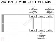 Voir les photos Semi remorque Van Hool 3 B 2010 CURTAINSIDE (DRUM BRAKES / SAF AXLE)