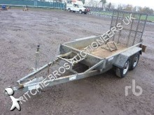 Indespension heavy equipment transport trailer