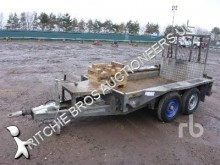 Ifor Williams heavy equipment transport trailer
