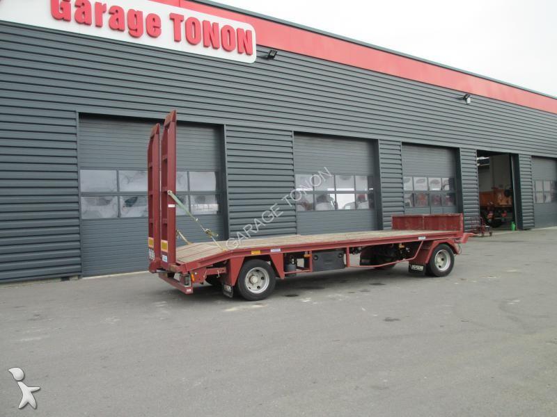 Remorque verem porte engins rpe10d 2 essieux occasion n for Garage julien pizancon occasion