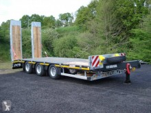 Faymonville heavy equipment transport trailer