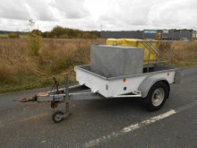 remorca platformă transport panouri Paillard