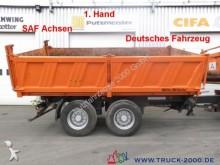 rimorchio Müller-Mitteltal TA 18 Tandem 3 Seitenkipper 1. Hand NL 13.340kg