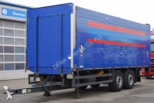 remolque caja abierta transporte de bebidas usado