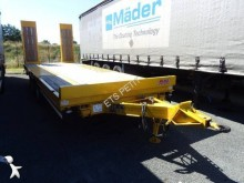 remorca Castera TPCB 15 Porte-engin 2 essieux Centraux