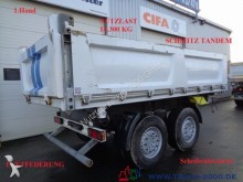 remorca Schmitz Cargobull ZKI 18 Tandem 3 Seitenkipper 1. Hand NL 13.300kg