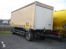 rimorchio Schmitz Cargobull AWF18 Anhänger 2 Achse Plane - Guter Zustand