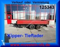 remolque Fliegl Tandemkipper Tieflader
