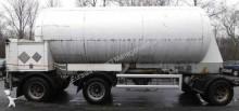 remolque cisterna de gas usado