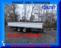 remorque Humbaur Tandemkipper Tieflader, 5.50 m Ladefläche