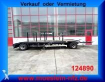 remorca Hüffermann 2 Achs Abroll Tieflader Anhänger