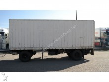 remolque Groenewegen 2 AXLE CLOSED BOX TRAILER
