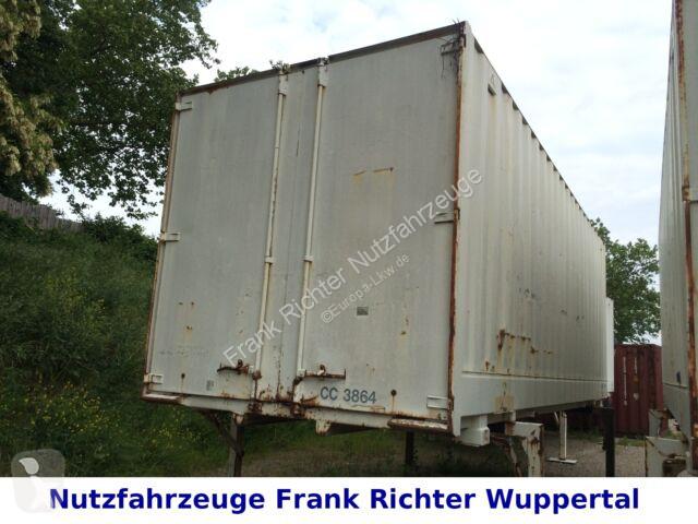 Voir les photos Remorque nc Stahlbrücken Koffer, sehr guter Zustand