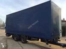 remolque furgón caja polyfond usado
