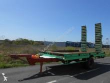 remolque Cazenave PLATEAU PORTE-ENGINS 4m45