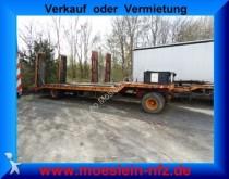 remorque Langendorf 2 Achs Tieflader Anhänger