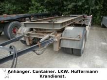 remolque Hüffermann 2-achs Abrollanhänger / HSA 18.70 L
