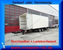 remolque Moeslein Tandem Koffer + Ladebordwand + Durchladbar