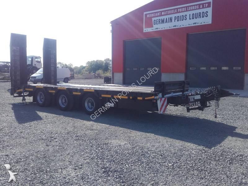 Remolque Louault 3 essieux centraux