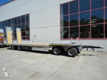 remolque Moeslein 4 Achs Tieflader Anhänger mit ABS