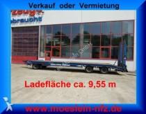 remorque Müller-Mitteltal 3 Achs Tieflader 9,55 m Ladefläche