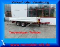 remolque Müller-Mitteltal Tandemkipper Tieflader