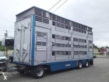 remolque para ganado usado