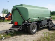 remolque cisterna vehículo para piezas