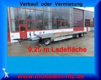remolque Moeslein 3 Achs Plato Tieflader Anhänger 9 m, Alu Ram