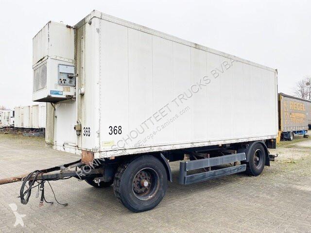 Remorque nc KA 18 ROHR 2-A-Kühlanhänger, LBW