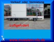 remorque Moeslein 3 Achs Plato Anhänger, 9 m Ladefläche, Neufahrz