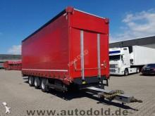 Schmitz Cargobull SGF Pritsche+Plane Tridem Liftachse Hubdach 18x