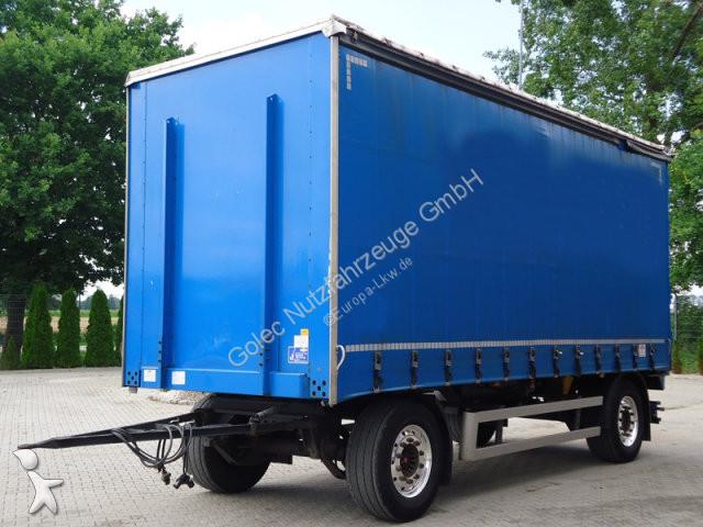 Remorque Dinkel DAPP 18000 Pritsche + Plane Anhänger/ 6,4 m