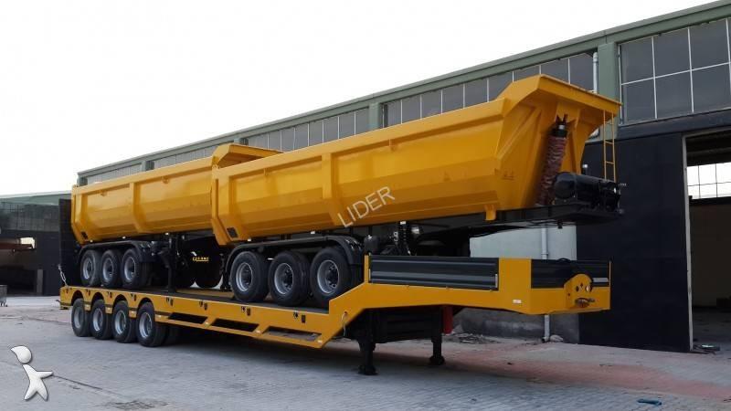 Lider 24 m3 3 axle brand new 2017 Anhänger