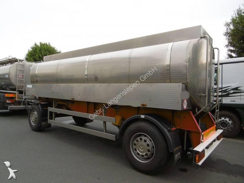 gebrauchter anh nger tankfahrzeug lebensmittel lebensmitteltankanh nger 2 achsen n 2227640. Black Bedroom Furniture Sets. Home Design Ideas