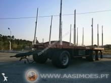 reboque transporte de madeira Trailor