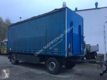Dinkel DAP 18000 Pritsche Plane 2 Achse Anhänger trailer