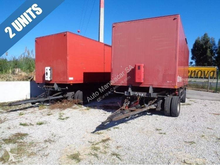 Reboque Listrailer CTT 88 - 4x Unidades