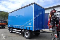 remorque Dinkel DAPP 18000 Pritsche + Plane Anhänger/ 6,6 m