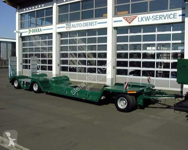 K.A. Ebert TL 30 ST Spezialtieflader Anhänger