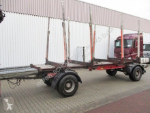 Krone timber trailer
