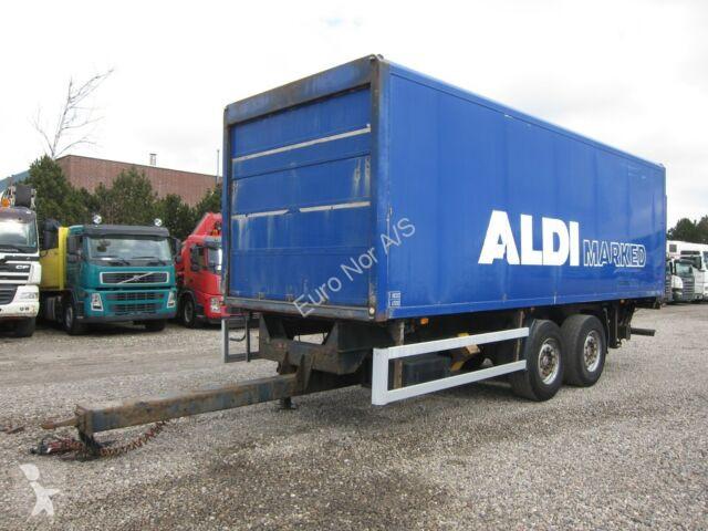 Voir les photos Remorque Ackermann 2 axle 18 ton Box / Koffer