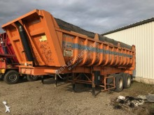 Fruehauf construction dump trailer