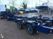 SEP heavy equipment transport trailer