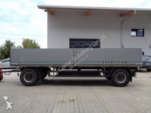 Meusburger dropside flatbed trailer