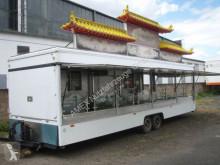 remorque nc Gross-Imbisswagen, 10 Gasherde, alles Edelstahl
