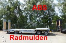 przyczepa Moeslein 4 Achs Tieflader mit Radmulden, ABS