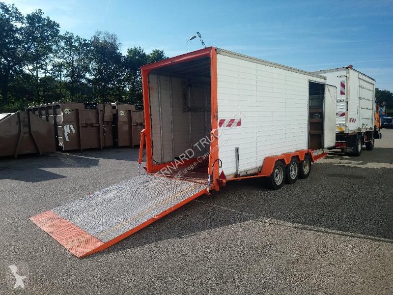 Remorque ACTM MOIROUD REMORQUE PORTE ENGIN 3 essieux L: 5100