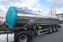 Wielton GreTo Lebensmitteltank 31.000 L- 3 Kammer Pumpe trailer