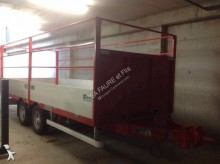 Fournier dropside flatbed trailer